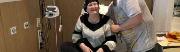 Kabbelt voort tot je ineens je laatste chemo hebt…